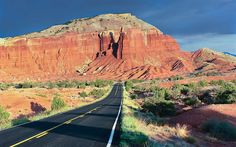 Route 12, Utah: The red rock majesty of Utah is on triumphant display on State Route 12 winding between Capitol Reef and Bryce Canyon national parks.