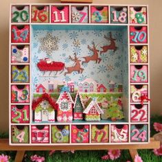 Advent Calendar, love it (searching for a link that works, pinning bc I love the style)