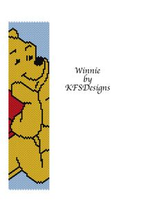 Peyote Bracelet Pattern  Winnie Buy 2 Patterns  get by KFSDesigns, $6.50