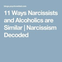 Narcissists gratify themselves despite the costs to those close to them just as alcoholics continue drinking even when it hurts loved ones. Narcissist Father, Narcissist Quotes, Narcissistic Behavior, Narcissistic Sociopath, Narcissistic Tendencies, Narcissistic People, Verbal Abuse, Emotional Abuse, Emotional Healing