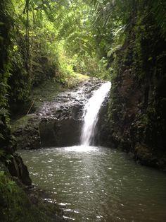 Maunawili Falls, Kailua, O'Ahu, Hawaii