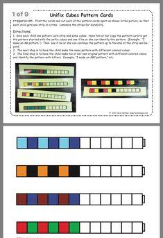 Cube Pattern, Pattern Blocks, Bingo Board, Card Patterns, Get One, Cards, Autism, Map