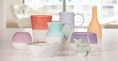 Heritage inspired, hand-dipped ceramics from the Royal Doulton 1815-2015 collection