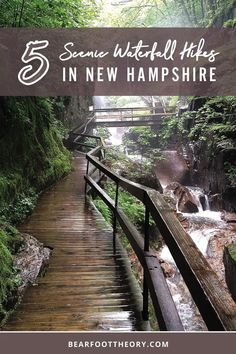 5 Scenic Waterfall Hikes in the White Mountains of New Hampshire