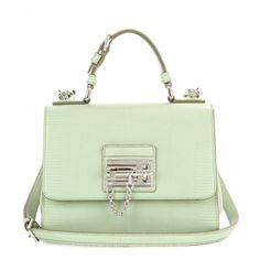 Monica Small Embossed Leather Shoulder Bag ☆ Dolce & Gabbana ☼ mytheresa