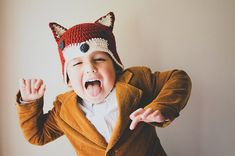 Kid's Crocheted Fox Hat | Maker Crate