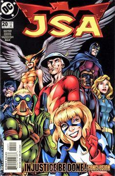 JSA #20, DC COMICS, 2.001, USA