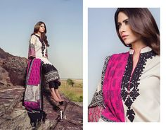 "Bella Stiles Presents:-""SANA SAFINAZ WINTER 2014"" Fabric details:-marina fabric shirt with a delicately embroidered neck, printed woven shawl and cotton shalwar.  To place #Orders:(#USA):610-616-4565, 610-994-1713; (#India):91-226-770-7728, 99-20-434261; E-MAIL:market@bellastiles.com, wholesale@bellastiles.com #fashion #ethnic #suits #stylish #embroidery #sale #discount #ladies #shopping #Trendy #Elegant #freeshipping #dresses #Desi #girls #eCommerce #online #international #Bellastiles…"