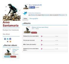 Arno Santamaria © Universal Music France.
