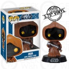 Boneco Jawa - Star Wars - Funko Pop! #geekwish