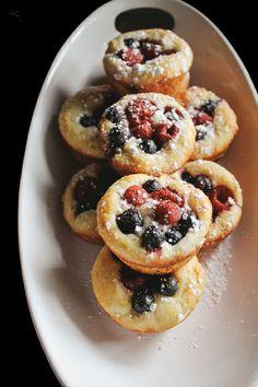 Berry Brioche Muffins
