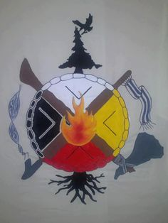 Idle No More. Designed by children.