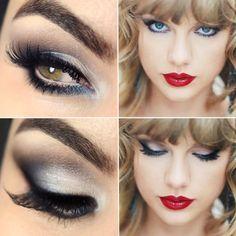 Maquiagem inspirada na Taylor Swift