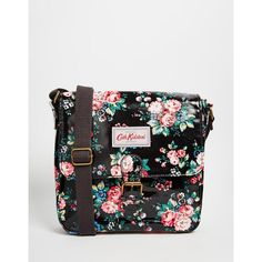 Cath Kidston Mini Satchel ($69) ❤ liked on Polyvore featuring bags, handbags, spray flowers, floral handbags, flower print handbags, cath kidston, floral print purse and mini handbags