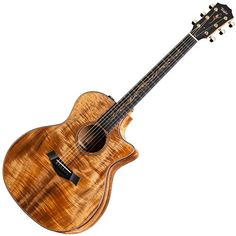 Taylor is the gold standard these days. The koa wood top guitars have a different sound from the spruce tops. The tone is mellow, but is still sharp enough for single string work