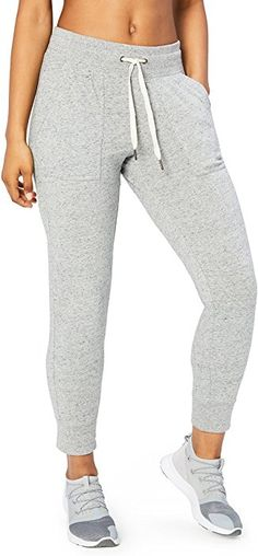 be9c12a68fd Amazon.com  Core 10 Women s Lightweight Cool Down Jogger Sweatpant