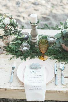 Una boho chic winter wedding en All Lovely Party