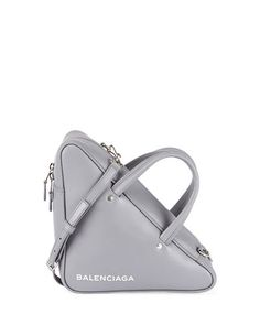 a8edc45f05 Balenciaga Triangle Duffel Small Leather Bag