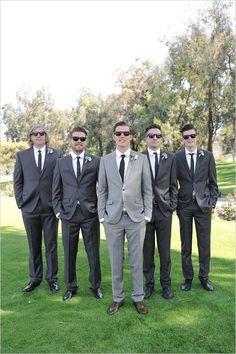 dark grey #groomsmen @weddingchicks