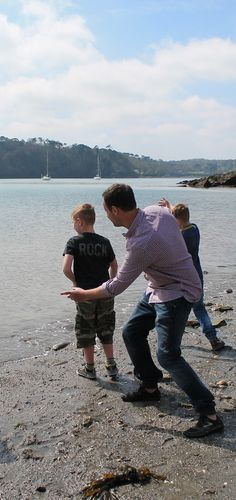 Skim a stone at Glendurgan - one of our '50 things to do before you're 11¾'