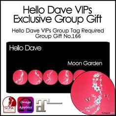 Moon Garden Nail Applier Group Gift by Hello Dave