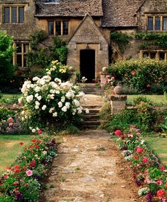 Manor house, Cotswolds, England