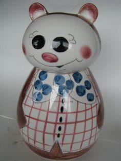 Roly Poly Bear Cookie Jar