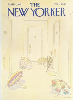 The New Yorker - Monday, April 10, 1978 - Issue # 2773 - Vol. 54 - N° 8 - Cover by : Eugène Mihaesco