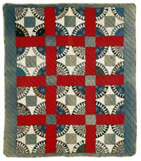 Did you want to learn how to make one of Bill Volckening's antique New York Beauties? Ta-da! Intermediate Quilt Pattern: Suspension Bridge, only in QN August/September 2012