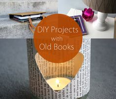 DIY Projects with Old Books