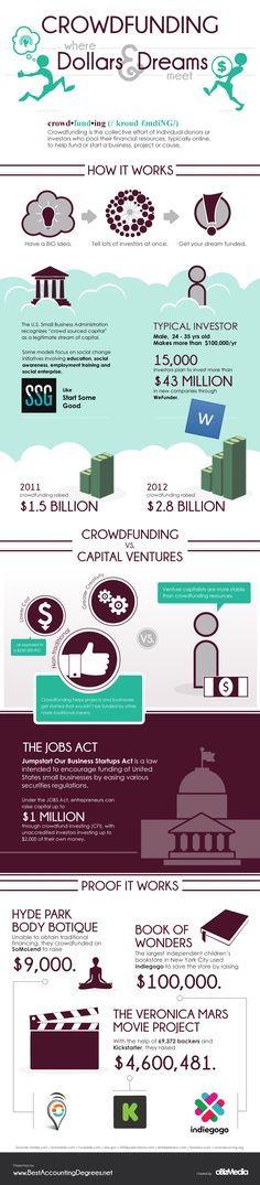 Does Crowdfunding Really Work? Infographic