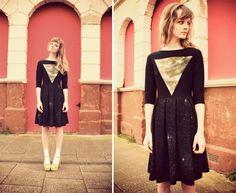 WeAreHairyPeople handpainted galaxy dress