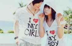 cute couples t-shirt