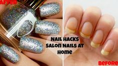 DIY SALON NAILS AT HOME | How To Get The Perfect Manicure & Transform Yo...
