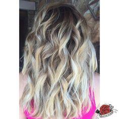 Blonde Balayage  Blonde highlights  Long blonde hair