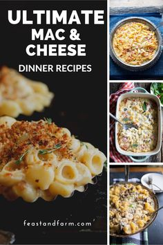 Give up boring boxed mac and cheese and make one dish dinners with bold flavor! This book is loaded with versions my kids love. It has been a great investment in dinner! #macaroniandcheese Ultimate Mac And Cheese, Boxed Mac And Cheese, Macaroni And Cheese, Best Pasta Recipes, Real Food Recipes, Skillet Recipes, Cheese Recipes, Side Dish Recipes, Dinner Recipes
