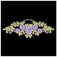 Rose Decor 2 - Sweet Heirloom Embroidery | OregonPatchWorks