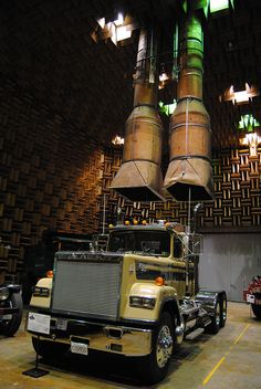 Sound testing room at Mack Truck Museum