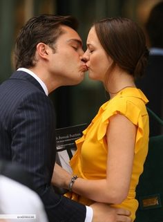 My favorite picture of Chuck and Blair from Gossip Girl