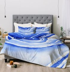 Blue Lace Agate Comforter - Laura Trevey