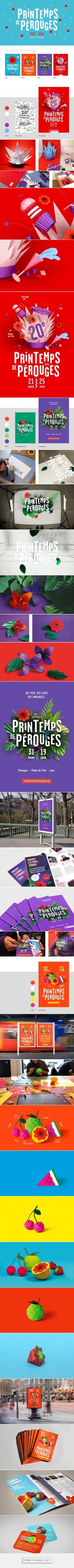 Spring Festival Poster Series on Behance - created via https://pinthemall.net