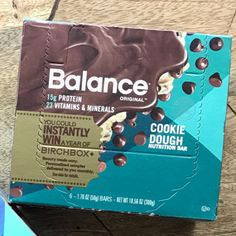 Balance Bars golden ticket