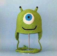 Gorro de wasausky de monster inc.