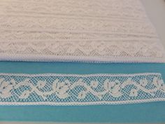 Lace Cotton Heirloom Insertion Vintage 5 yard by BessiesBlessings