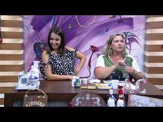 Mulher.com - 30/11/2015 - Técnica de imitação de louça Portuguesa - Angelina Couto PT2 - YouTube
