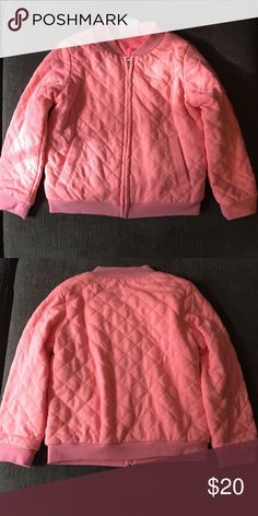 Toddler Girl's Quilted Jacket Pink quilted jacket. NWOT Osh Kosh Jackets & Coats