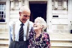 This couple tied the knot 65 years go in the same place their grandaughter and daughter tied the knot - Hackney Town Hall, London.  LOVE this so much.  From 'A Fabulously Fun 1920s Gatsby Inspired London Wedding'.  http://gabriellerobbinsphotography.tumblr.com/