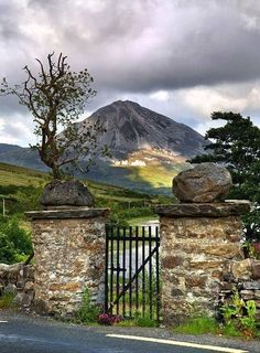 Mount Errigal Errigal is a 751-metre mountain near Gweedore in County Donegal, Ireland. It is the tallest peak of the Derryveagh Mountains and the tallest peak in County Donegal