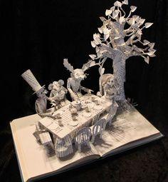 Jodi Harvey Brown-book sculptures
