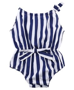 Zebra Striped Romper  Soft and Comfortable Baby & Toddler Clothing!
